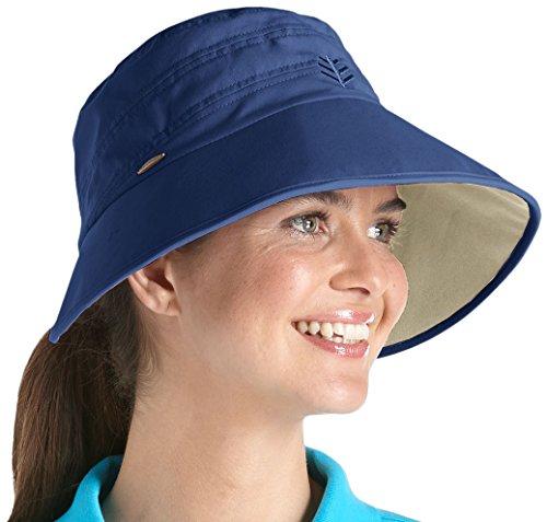 Coolibar Cappello Parasole da Donna Protezione Raggi UV 50+